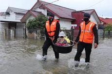 Banjir Menerjang 4 Kecamatan di Aceh Besar