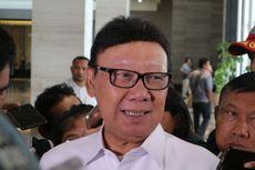Bertemu Mendadak, Tjahjo dan Wiranto Bahas PKPU yang Larang Eks Koruptor Jadi Caleg