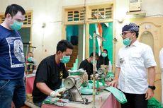 Banyuwangi Produksi 3.000 APD, Pemkab Gandeng UMKM dan BLK, Diawasi Langsung Dinas Kesehatan