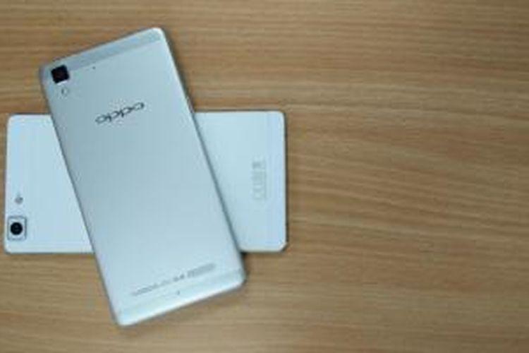 Smartphone dengan seri R merupakan wujud nyata yang ditunjukan Oppo dalam menyajikan teknologi cepat namun tetap berkelas dalam genggaman.