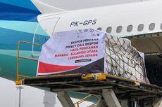 Garuda Buka Penerbangan Khusus Kargo dari Manado Langsung ke Jepang