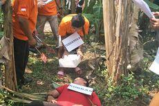 Prarekonstruksi, Pelaku Praktikkan Sadisnya Pembunuhan Karyawan Pemotong Ayam