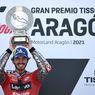 Luapan Bahagia Rossi Usai Sang Murid Bagnaia Menang di MotoGP Aragon