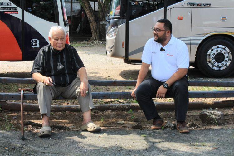 Wawancara Kurnia Lesani Adnan dengan owner PO Gumarang Jaya