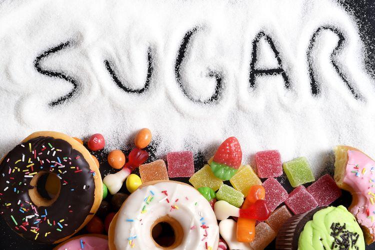 Ilustrasi gula, cara gula diam-diam merusak tubuh