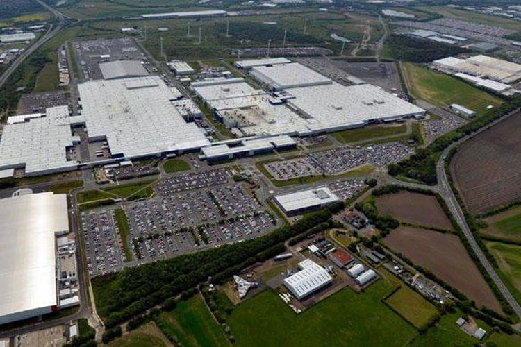 Pabrik Nissan Sunderland, Inggris.