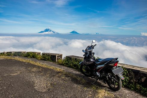 Puncak Gunung Telomoyo di Jawa Tengah, Bisa Dicapai Naik Motor