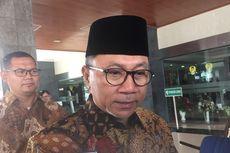 Zulkifli Hasan: Pak Wiranto Sudah Membaik, Masih Latihan Berdiri dan Duduk