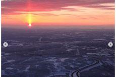 Viral Video Matahari Terbit dari Utara, Ini Penjelasan Ilmiah Lapan