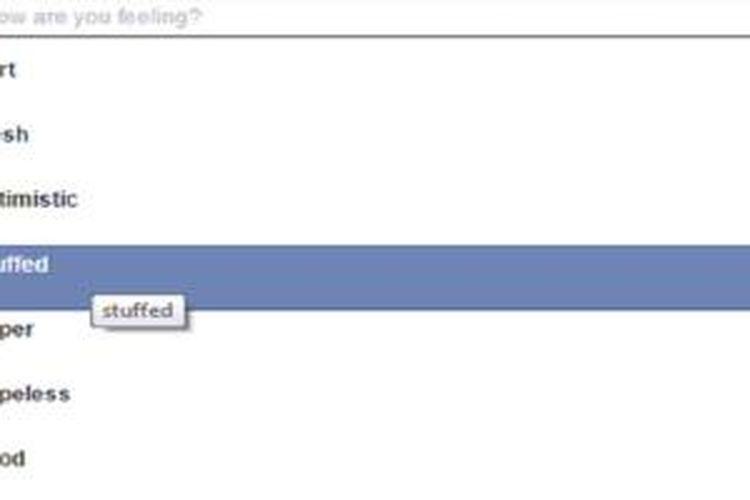 Facebook telah mengganti emoji Feeling Fat dengan Stuffed