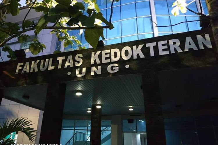 Gedung Fakultas Kedokteran Universitas Negeri Gorontalo yang sudah siap ditempati