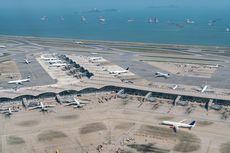 Diduduki Ribuan Demonstran, 100 Penerbangan di Bandara Hong Kong Terganggu