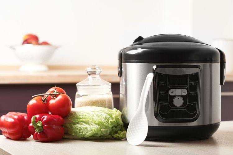 Ilustrasi rice cooker.