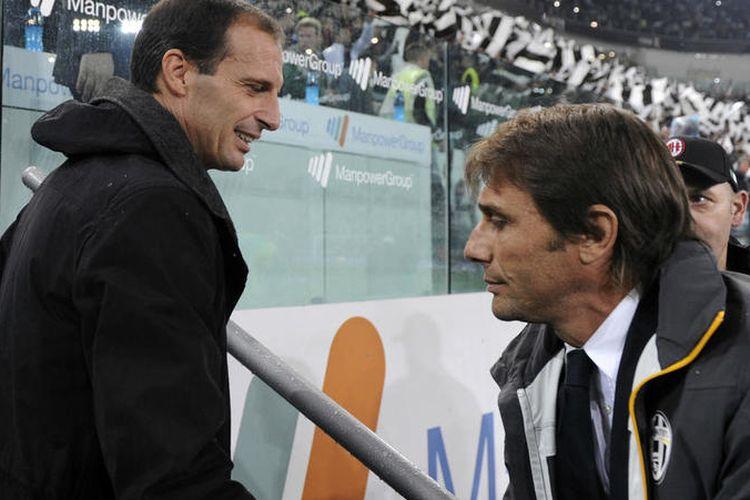Antonio Conte dan Massimiliano Allegri
