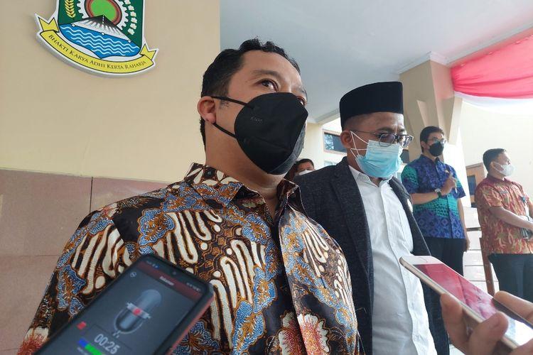 Wali Kota Tangerang Arief R Wismansyah saat ditemui di Pusat Pemerintahan Kota (Puspemkot) Tangerang, Kamis (26/8/2021).