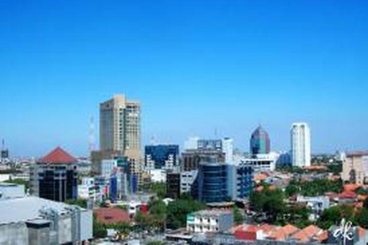 Pengembangan properti di Surabaya, bergeser ke wilayah Selatan dan Timur kota.