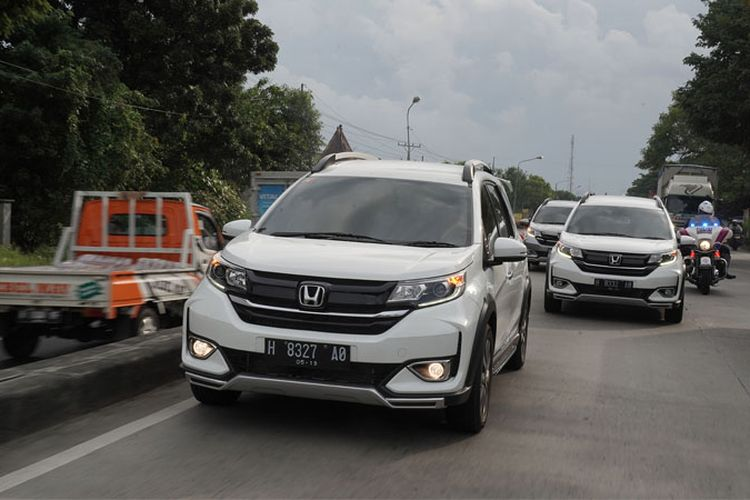 Tes drive Honda BR-V Semarang-Jepara