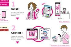 Di Jepang, Turis Dapat Akses Wi-Fi Gratis