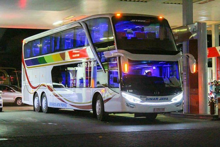 Bus AKAP PO Sinar Jaya