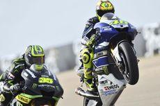 Rossi Mendapat Banyak Masalah pada Sesi Latihan Bebas Pertama dan Kedua