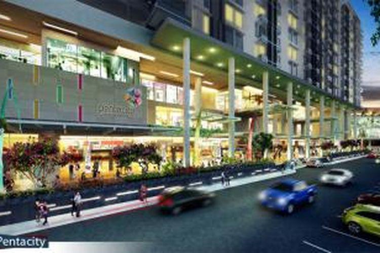 Pentacity Mall, Balikpapan, Kalimantan Timur