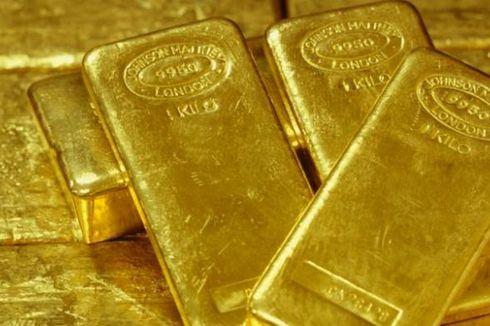 Awal Pekan, Harga Emas Antam Turun Tipis