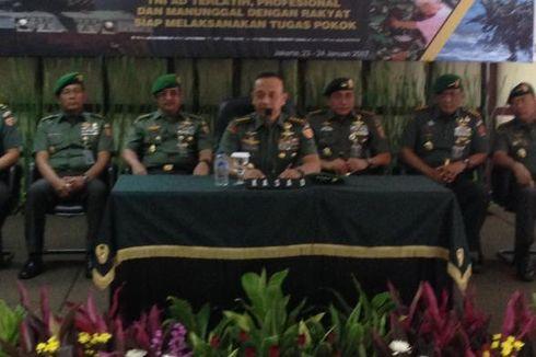 Wilayah Perbatasan dan Alutsista Jadi Fokus Rapim TNI AD
