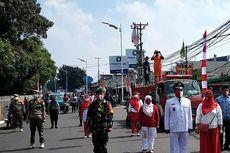Jalan Raya Lenteng Agung Ditutup, Lebih dari 45 Orang Nyanyikan