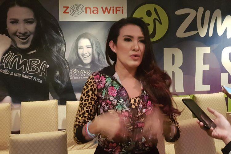 Liza Natalia, brand ambassador Zumba di Indonesia