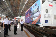 KAI Gratiskan Angkutan Oksigen 80 Ton untuk Penanganan Covid-19 Surabaya