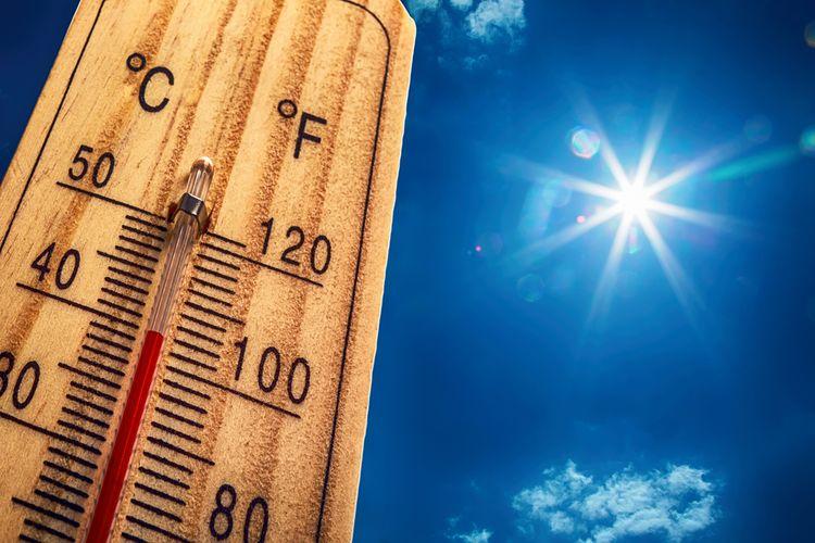 Ilustrasi suhu ekstrem. Equinox diyakini banyak orang jadi dalang meningkatnya suhu di Indonesia.