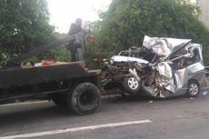 Cerita Andri Selamat dalam Kecelakaan Beruntun di Ancol meski Mobil Rusak Parah