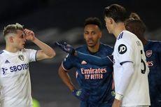 Hasil Leeds Vs Arsenal - Pepe Kartu Merah, The Gunners Raih Hasil Imbang