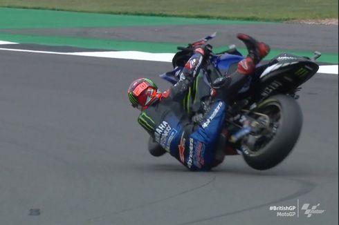 Hasil FP2 MotoGP Inggris: Sempat Crash, Quartararo Tetap yang Tercepat