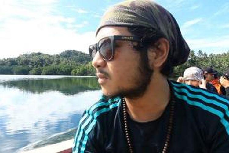 Ramon Y Tungka, pemandu acara 100 Hari Keliling Indonesia di Kompas TV.