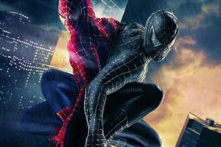 Ilustrasi Spiderman 3.