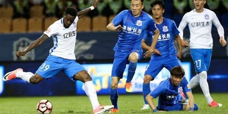 Klub Tianjin Teda pada kompetisi Liga Super China