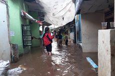 Tidak Hujan, Banjir di Kebon Pala Tanah Rendah Semakin Tinggi