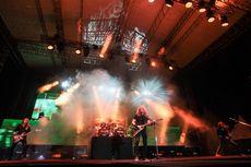 Megadeth Lelang 2 Gitar untuk Bantu Korban Gempa dan Tsunami Palu-Donggala