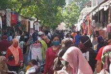H-2 Lebaran, Pasar Jatinegara Dipadati Pengunjung