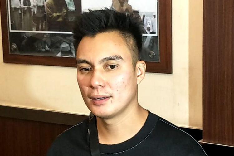 Baim Wong saat ditemui di Polres Metro Jakarta Selatan, Kamis (25/7/2019)