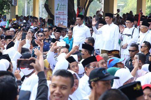 Menteri Amran Dampingi Jokowi Lepas Kirab Santri di Alun-alun Sidoarjo