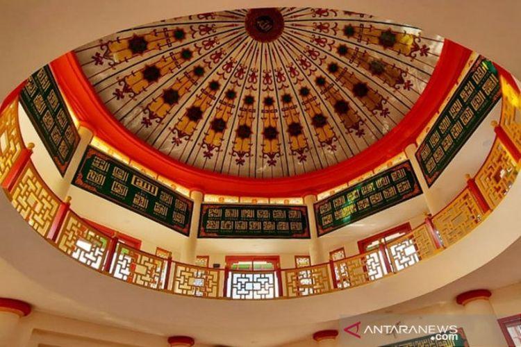 Masjid Babah Alun Desari yang diresmikan tahun 2020 oleh Sekda DKI Jakarta.