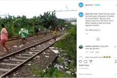 Video Viral Tawuran di Rel Kereta Api di Tanjung Priok, Berawal dari Masalah Parkir