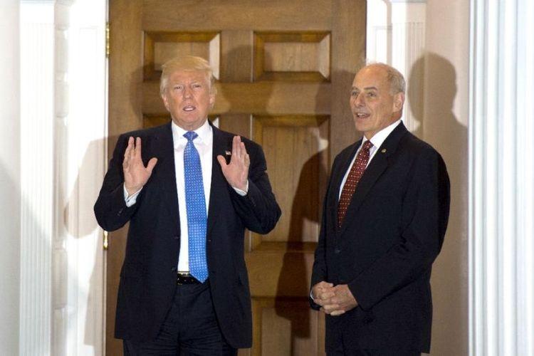 Donald Trump dan John Kelly