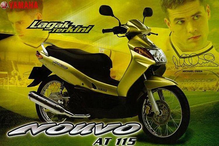 Yamaha Nouvi generasi pertama yang meluncur di Indonesia.