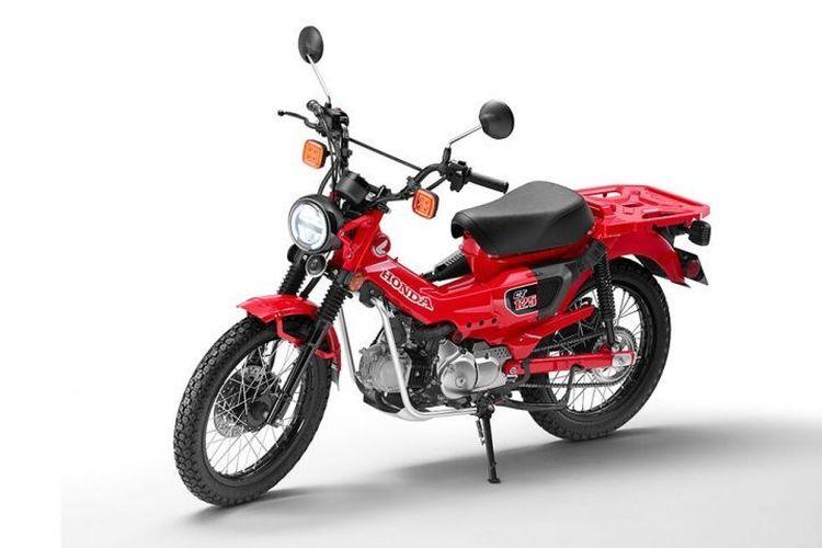 Honda CT125 tampil ke publik di ajang Tokyo Motor Show (TMS) 2019