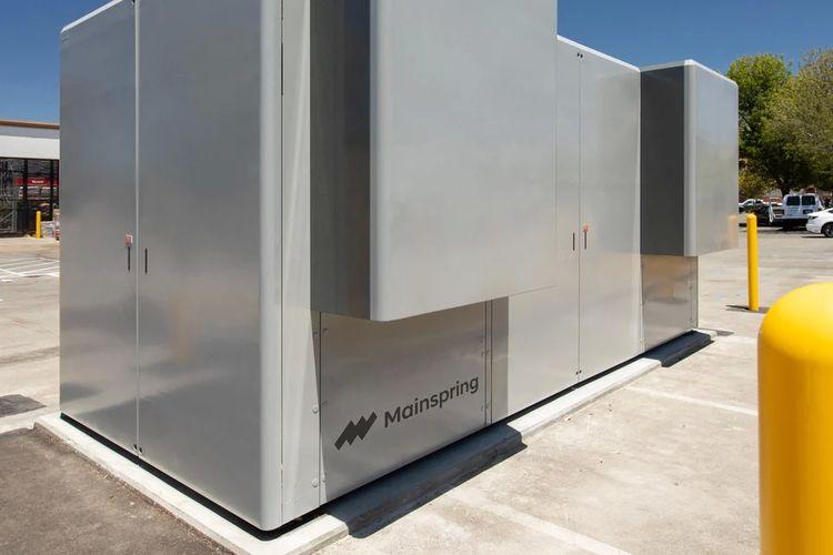 Produk EtaGen Mainspring Technology.