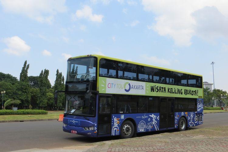 Ilustrasi Keliling Jakarta gratis naik Bus City Tour