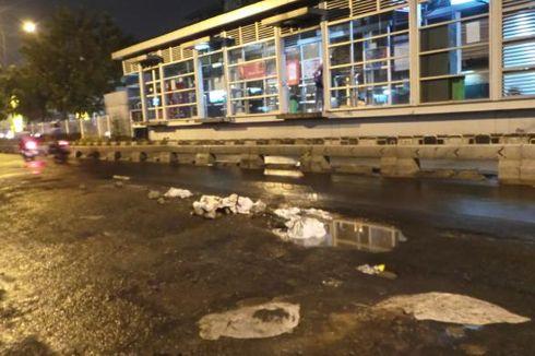 Jalan Rusak di Jakarta Diperbaiki Nonstop